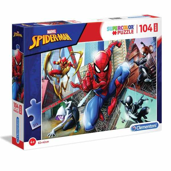 Puzzle 104 maxi spiderman