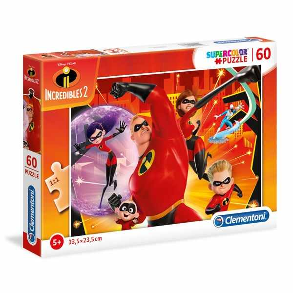 Puzzle 60 the incredibles 2